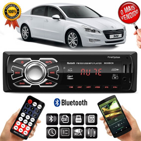 Mp3 Player 6630bcn Peugeot 508 408 308 1 Din Usb Rádio Fm
