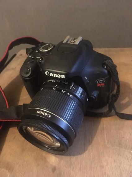 Canon T3i + Lente 18-55mm 2.8
