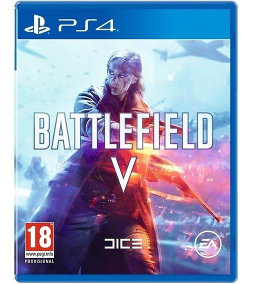 Game Battlefield V Bf 5 Ps4 Disco Fisico Original Promoção