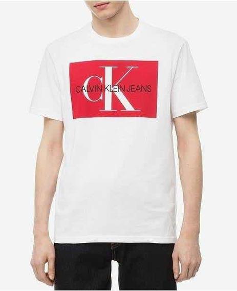 Playera Calvin Klein Jeans Mediana