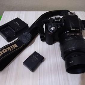 Câmera Profissional Nikon D3100 + Bateria E Carregador