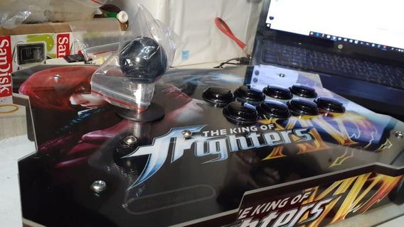 Controle Arcade Fliperama Usb Mod. Sanwa Restritor Octogonal