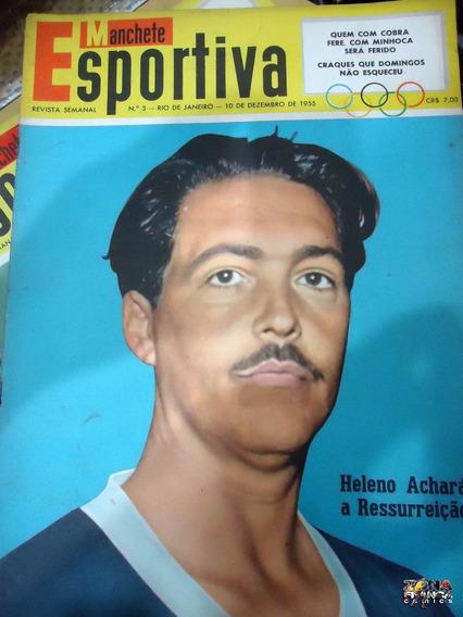 Manchete Esportiva Nº 03 Nelson Rodrigues Poster Dez 1955