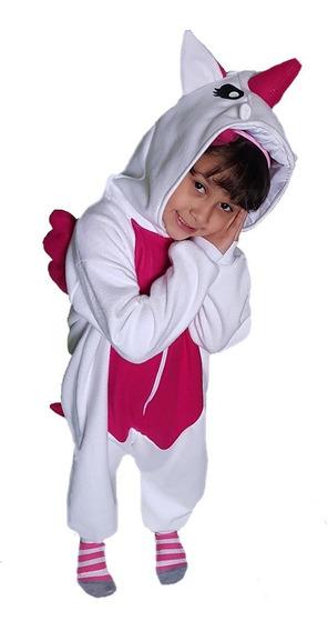 Pijama / Disfraz Infantil Nena Unicornio Kigurumi Polar