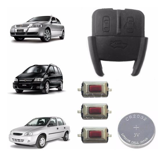 Capa Chave Telecomando Astra Zafira Corsa Controle B&s 9004