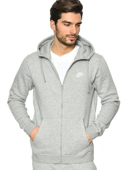 Jaqueta Nike Sportswear Full Zip Fleece Club Com Capuz