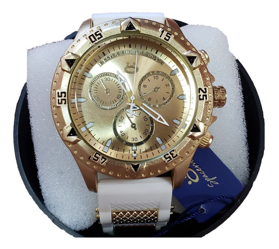 Relógio Unissex Orizom Original Pulseira Silicone + Caixa
