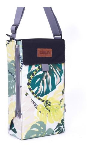 Imagen 1 de 10 de Matera De Diseño Chilly Selva Bolso Matero Mantel