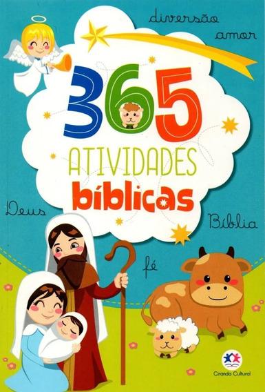 Livro Infantil - 365 Atividades Bíblicas Fé Deus