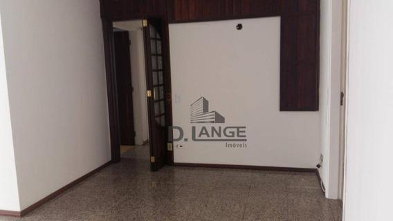 Apartamento Com 3 Dormitórios Para Alugar, 110 M² Por R$ 1.500/mês - Centro - Campinas/sp - Ap17289