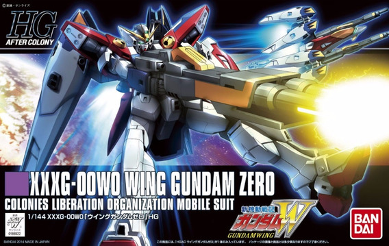 Figure Model Kit Gundam Xxxg-oowo Wing Gundam Zero 1/144