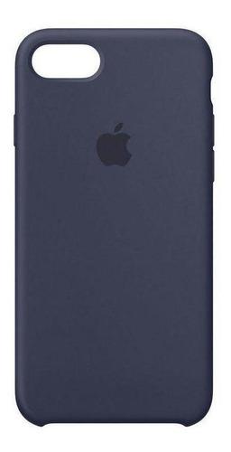 Capa Original Apple Para iPhone 7 / 8 Apple - Azul Marinho