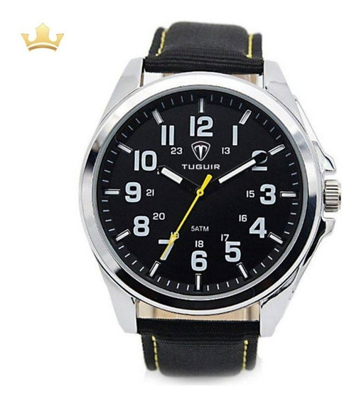 Relógio Masculino Tuguir Analógico 5045 Com Nf