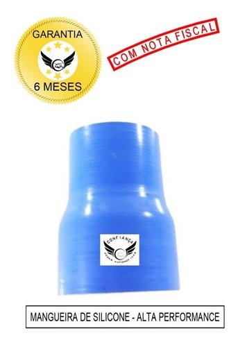 Mangote Redutor Reto 2 1/2 X 3 Polegadas 100mm Silicone