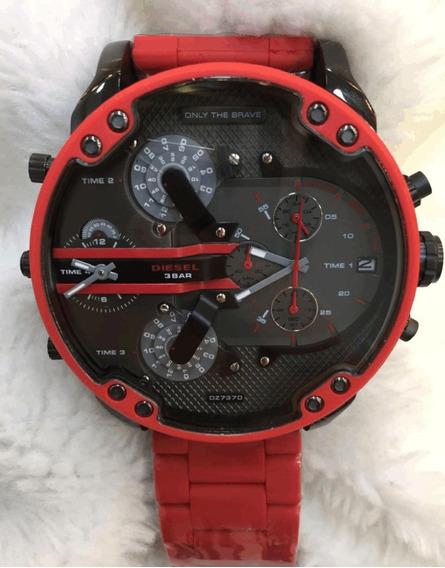 Relógio Diesel Dz7370 Cronograph 12x S/ Juros + Caixa Diesel