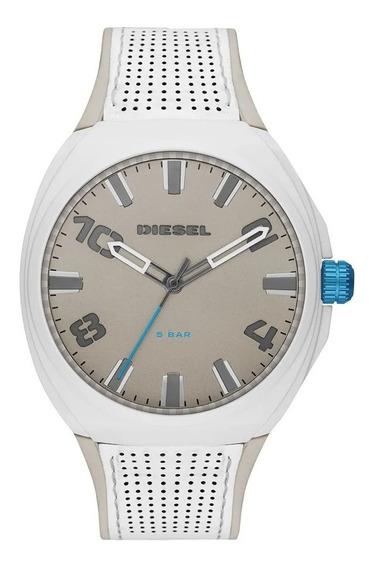 Relógio Diesel Stigg Dz1884/0bn Masculino - Branco