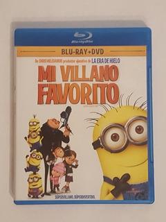 Mi Villano Favorito Minions Blu-ray Disc Dvd Envío Gratis