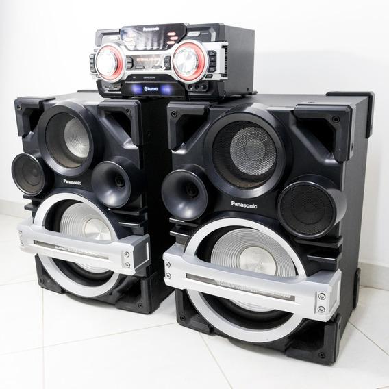 Super Woofer Panasonic Sa-max750 2400 Rms De Potência Som