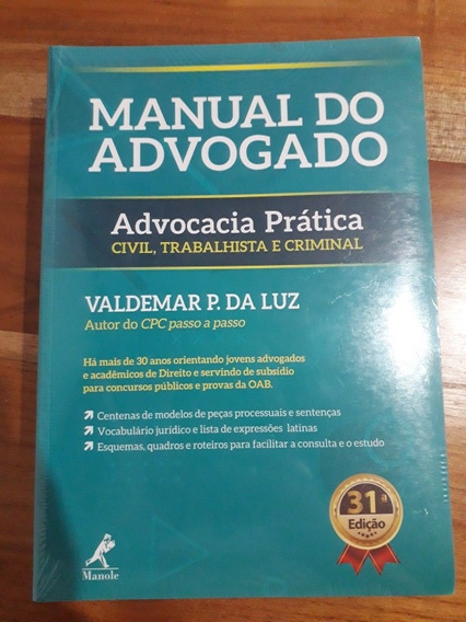 Manual Do Advogado, Advocacia Prática