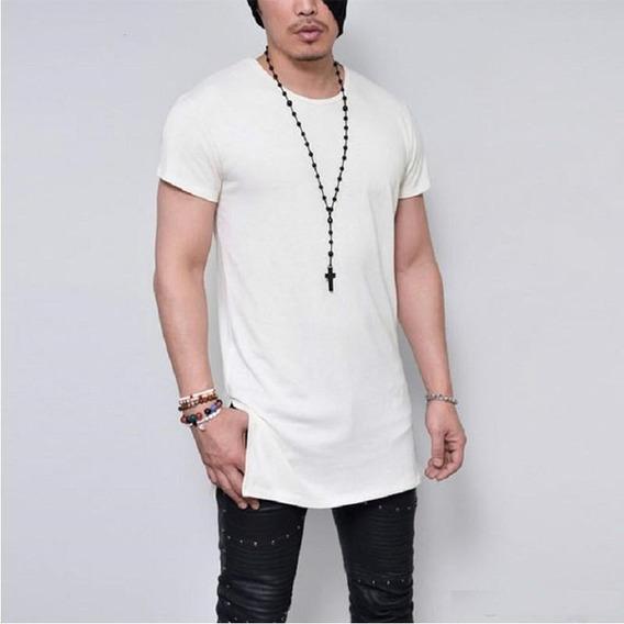 3 Camiseta Masculina Oversized Longline Camisa Mutante