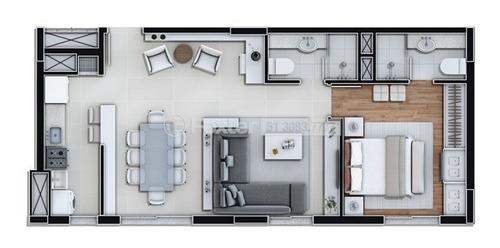 Imagem 1 de 17 de Apartamento, 2 Dormitórios, 60.61 M², Marechal Rondon - 196114