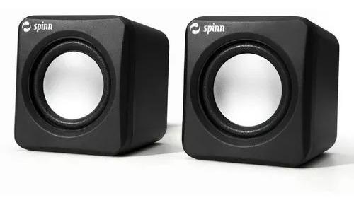 Caixa De Som Spinn Mini Speaker Sp 100 Preto Usb