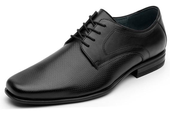 Zapatos Hombre Piel Estilo Vestir Comodo 90708 Flexi