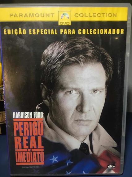 Perigo Real E Imediato - Dvd Original - Rf4