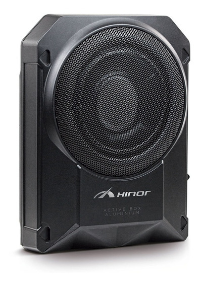 Caixa Amplificada Hinor - Active Box Slim 8 Aluminium 250w
