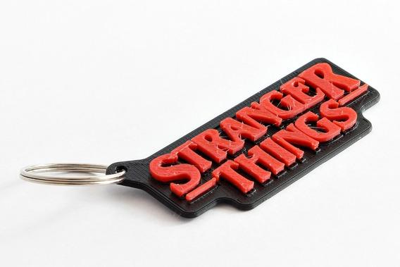Chaveiro Personalizado Stranger Things Pack Com 10 Unidades