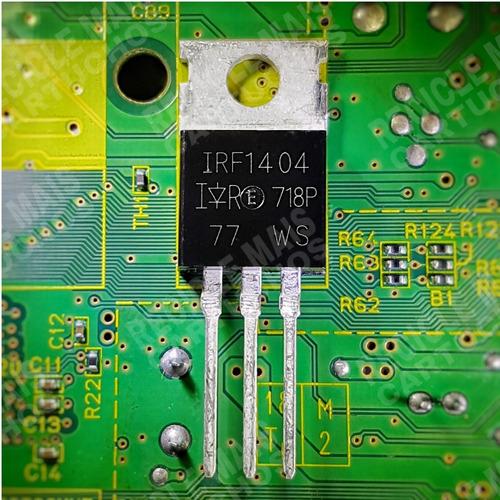 Transistor Irf1404 Irf1404pbf 162a 40v To220 Novo Original