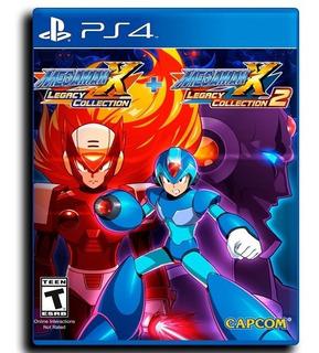 Megaman X Legacy Collection 1+2 Ps4 Disponible