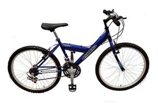 Bicicleta Mountain Bike Mtb Rdo 24 18 Vel Ushuaia.