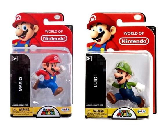 Mario Y Luigi Corriendo Mario Bros Word Of Nintendo Serie 2