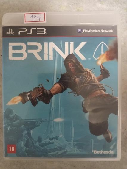 Jogo Sony Ps3 Brink Original Lote184