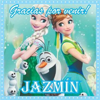 30 Bolsas Bolsitas Papel + 30 Stickers Frozen Elsa Ana