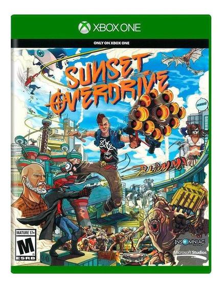 Jogo Sunset Overdrive - Xbox One - Midia Física