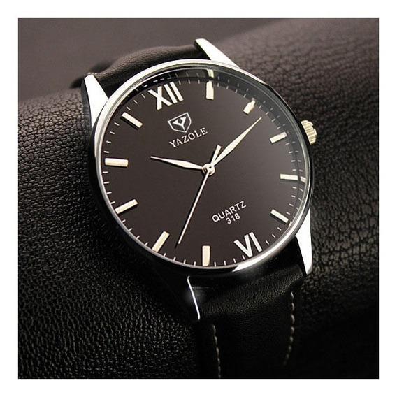 Relógio Yazole Quartzo Masculino Original Estilo Retro