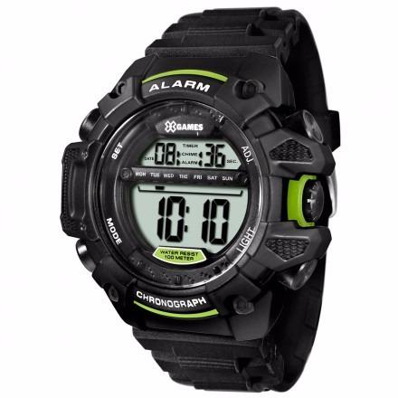 Relógio Masculino X-games Xmppd397 Bxpx Digital Preto