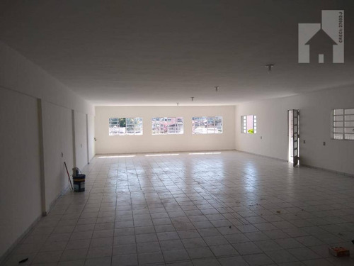 Salão Para Alugar, 643 M² - Vila Progresso - Jundiaí/sp - Sl0117
