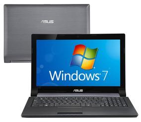Notebook Asus N53t Amd 8gb 500gb Windows 15,6 Led