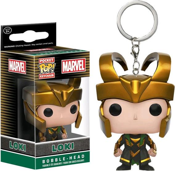 Llavero Funko Pop Loki Marvel Comics Infinity War