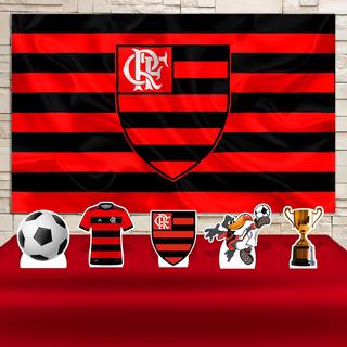 Kit Painel+display Festa Infantil Flamengo , Cenários