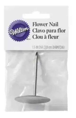 Clavo Para Flores Pastelería Wilton 3,8 Cm
