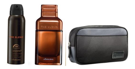 Kit The Blend Eau De Parfum, Desod. E Necessaire Boticário