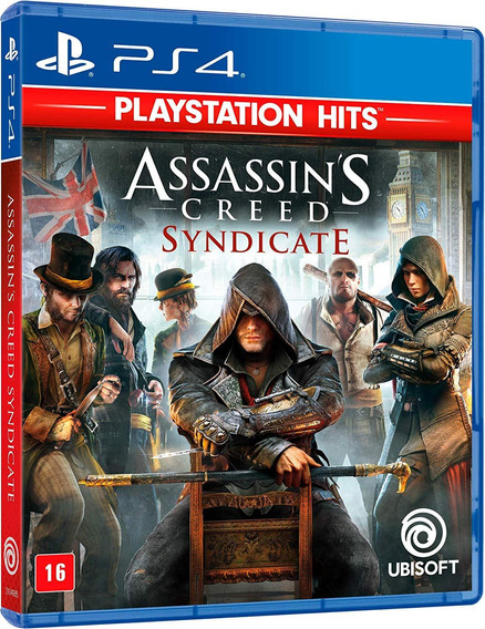 Jogo Assassins Creed Syndicate Português Ps4