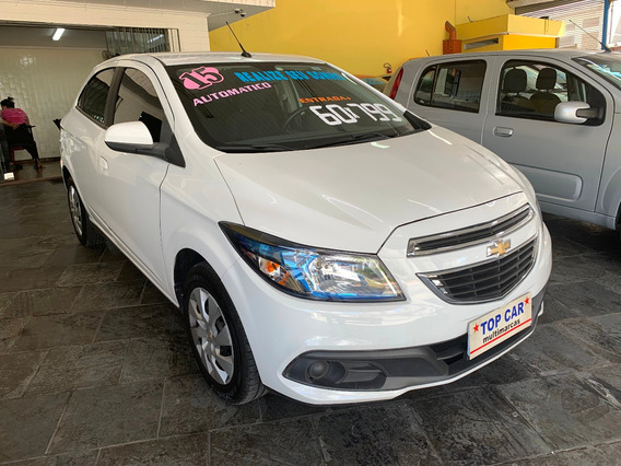 Gm - Chevrolet Onix Lt 1.4 2015 Automatico - Completo