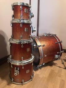 Bateria Yamaha Birch Custom Absolute + Ludwig Supraphonic