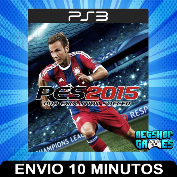 Pro Evolution Soccer 2015 - Pes 15 - Português - Psn Ps3