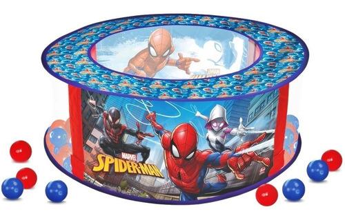 Piscina De Bolinhas Bebê Menino C/ 100 Bolinhas Homem Aranha
